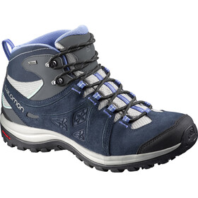 Salomon Ellipse 2 Mid LTR GTX Mid Hiking Shoes Women Titanium/Deep Blue/Petunia Blue